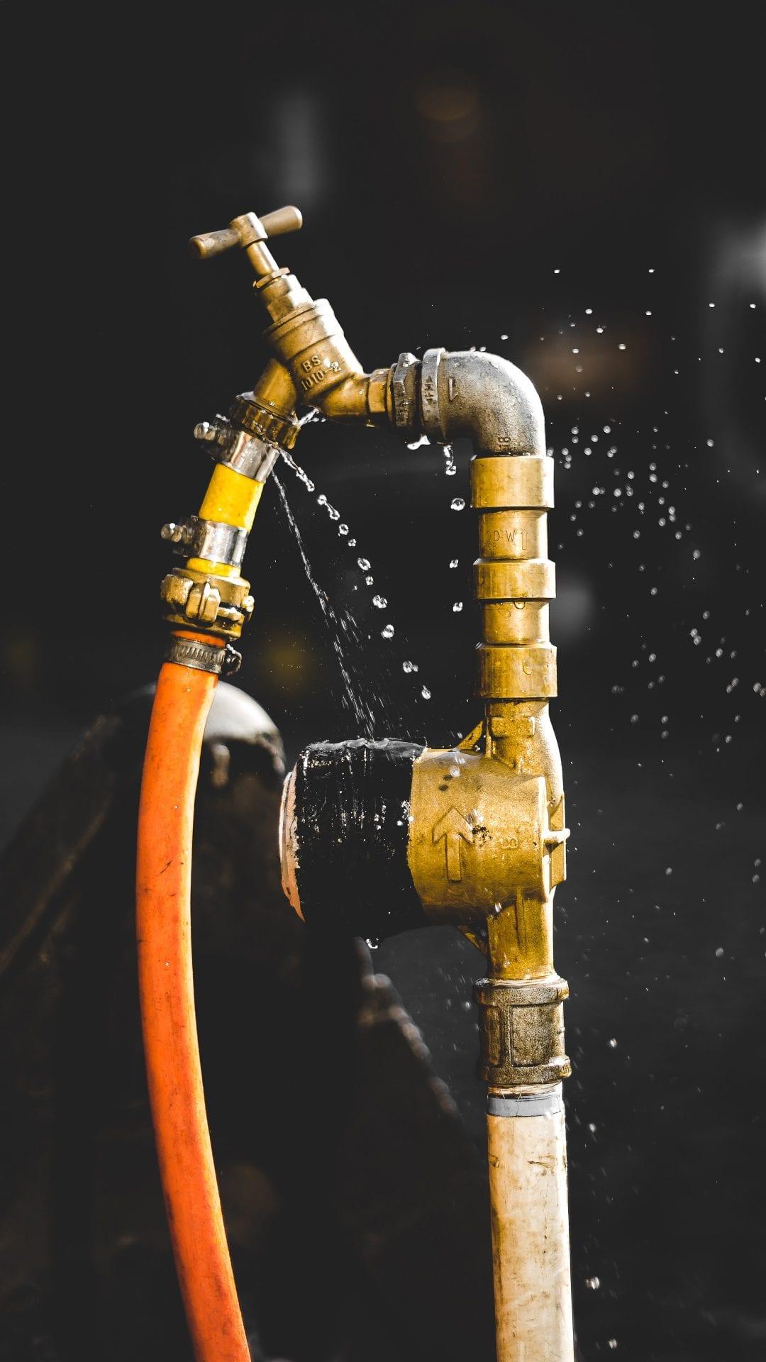 pipe hose spigot repair